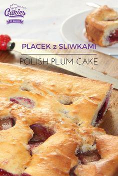 Placek z Sliwkami - Polish Plum Cake