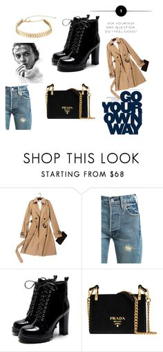 """Untitled#4"" by almaco12 ❤ liked on Polyvore featuring Levi's, Prada and Rebecca Minkoff"