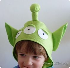 items similar to toy story green aliens halloween costume head piece on etsy - Toy Story Alien Halloween Costume