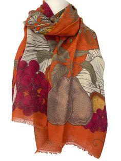 Pashmina Burnt Orange Wrap Ladies Fair Trade Rust Shawl Womens Scarf Wedding New