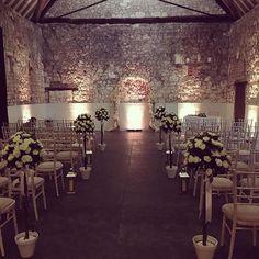 Ceremony Room setup before the big day. Mood Light, Room Setup, Big Day, November, Barn, Chandelier, Ceiling Lights, Instagram Posts, Wedding
