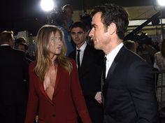Pin for Later: Jennifer Aniston Shows Skin on Her Latest Award Season Date Night