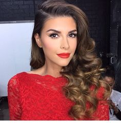 Instagram Post By B R A N D I Bpalestino Makeup To Go With Red Dressprom