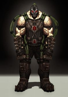 Bane Concept - Pictures & Characters Art - Injustice: Gods Among Us