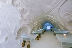 Le SnowCastle de Kemi en Finlande