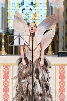 "Singing ""Gloomy Sunday"" at Alexander McQueen's funeral"