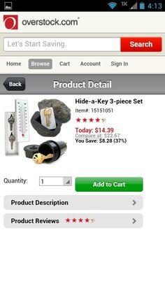 Hide a key set
