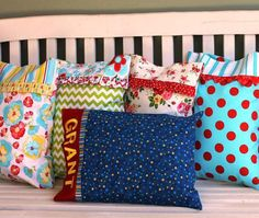Pillow Fight Pillowcase Pattern