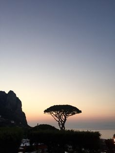 Sunset in Capri