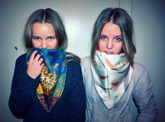 Foulard time #StreetStyle #JohanssonSisters #IN2ITIONSTYLE