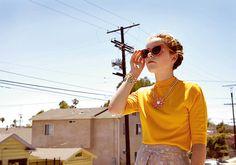 Kiernan Shipka photographed by Nicole Nodlund for ES Magazine, August 2013.