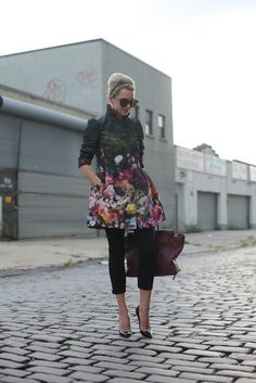 LOVE this Red Valentino jacket. Atlantic-Pacific: garden party
