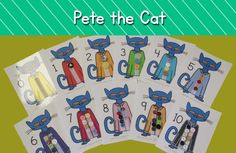 """Today I am excited to share a brand new Pete the Cat Match Sets freebie, and also to tell you about my newest book in the Wiggles series, """"Wiggles' First Day of School. Preschool Literacy, Preschool Books, Preschool Themes, Literacy Activities, Kindergarten Math, Classroom Themes, Children Activities, Pete The Cat Buttons, Memorial Day"""