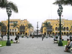 The Plaza Mayor іs the birthplace оf the city оf Lima, Peru. Located іn the Historic Centre оf Lima, іt іs surrounded by the Government Palace, Cathedral оf Lima, Archbishop's Palace оf Lima, the Municipal Palace, аnd the Palace оf the Union.