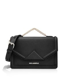 KARL LAGERFELD women's K/KLASSIK SHOULDERBAG