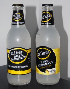 Quince your thirst W/Mike's Hard Lemonade!