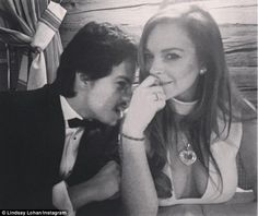 Family man? Lindsay Lohan's new man, Egor Tarabasov, has the approval of the actress's mum Dina, with the 53-year-old reportedly keen for the couple to start a family