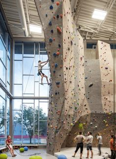 Lighting for Rock Climbing Gym and Indoor Bouldering Training Center
