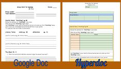 Hyperdoc...what's that? A hyperdoc, simply put, is an organized workspace for individuals or collaborative groups. Have you ever trie...