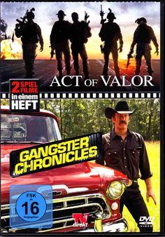 DVD - Act Of Valor - Gangster Chronicles - TV Direkt 2017 - 2 Filmesparen25.com , sparen25.de , sparen25.info