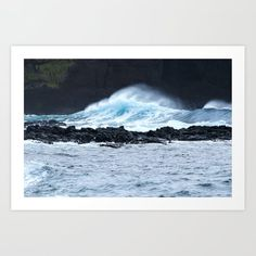 Crashing Waves, Azores, Landscape Prints, Custom Posters, Buy Frames, Photographic Prints, Scenery, Around The Worlds, Printables
