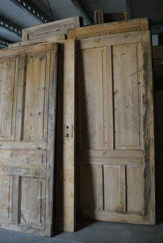 antieke grenen oude paneel deur deuren