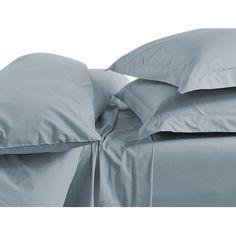 Coyuchi Percale Duvet Cover Size: Full/Queen, Color: Alpine White