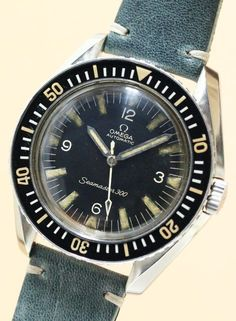44115c9cb77 Watches Ideas Omega Seamaster 300 Omega Diver