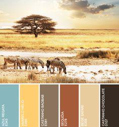 safari colors for shawl