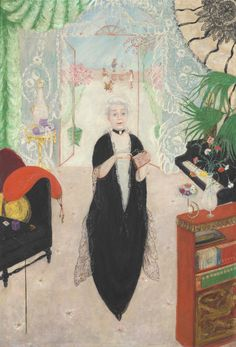 Florine Stettheimer 'Portrait of My Mother' 1925
