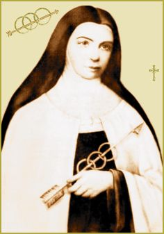 Sister Marie of St Peter reported she saw Saint Veronica wiping away the spit & mud from the face of Jesus with her veil on the way to Calvary. She said that sacrilegious & blasphemous acts today are adding to the spit & mud that St Veronica wiped away that day. According to Sr Marie of St Peter Jesus told her that He desired devotion to His Holy Face in reparation for sacrilege & blasphemy... She wrote The Golden Arrow Holy Face Devotion (Prayer) which she said was dictated to her by Jesus.