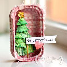 Kim Dellow: Christmas In A Sardine Tin Tutorial