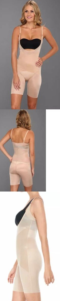 527bf5ad187 Shapewear 11530  Spanx Skinny Britches 1909 Open-Bust Mid-Thigh Body Shaper  Nude ~Size Large~ -  BUY IT NOW ONLY   44 on eBay!