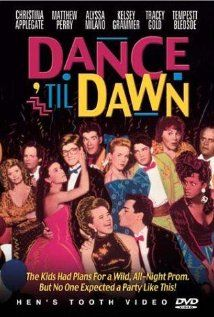 Dance 'Til Dawn (1988) Poster--all time favorite made for TV movie!! A classic!