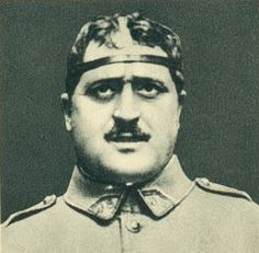 WW1, poet Guillaume Apollinaire with an iron circle to protect his head. (Apic/Getty Images). He enlisted in the French Army in 1914 despite being older than the age of conscription. He turned his experiences into a collection of experimental verse titled 'Calligrammes'. Apollinaires battlefield reveries were cut short in 1916,when he suffered a severe head wound from a piece of shrapnel. He survived the injury, but later became one of the millions to perish in the Spanish Flu epidemy of…