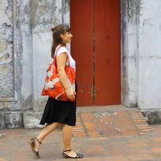 LOQI spotted in...? #LOQI #bag #Vietnam #red #cranes
