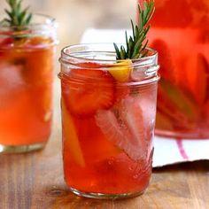 Strawberry Rosemary Sangria