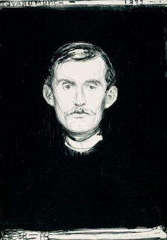 Otoportre, 1895, The Munch Museum, Oslo, Norveç.