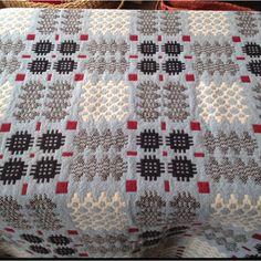 Vintage Welsh blanket. Tidy.