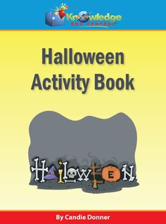 Halloween Activity Book - Knowledge Box Central |  | Activity & Fun Books | Holiday Products | Labor Day Style SaleCurrClick