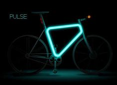 Illuminated Urban Bikes - The Teague Pulse Concept Makes Your Ride Glow (GALLERY)