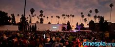 One of my favorite things to do in LA - classic movie screenings at the Hollywood Forever Cemetery presented by Cinespia!