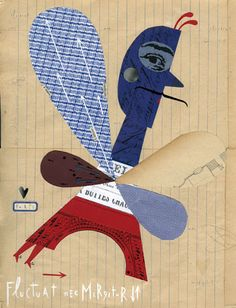 AGI Paris poster by Sara Fanelli