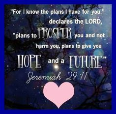 The Lord Has Plans...