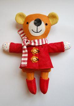 https://flic.kr/p/9CGTHo   original bear   The original bear design for One Stitch at a Time.   blogged