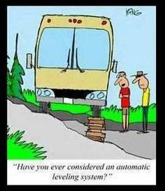 doing things the hard way. #camping #RVing #rvjokes #campingjokes #travelhumor