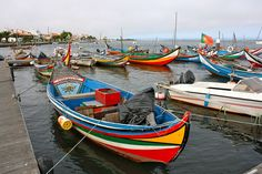 Portuguese boats by MartinMoizard, via Flickr