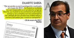La empresa Roche aclaró que el falso medicamento que presuntamente fue aplicado a niños por el Gobierno de Miguel Ángel Yunes no es una quimioterapia y que tampoco está indicado para ser aplicado a niños.