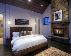 Boston.com - Bedroom Fireplace Design, Pictures, Remodel, Decor and Ideas
