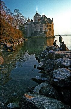 Chateau de Chillon, Switzerland by sybil